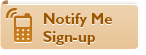Notify Me Sign-up